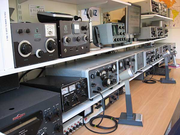 Equipment at amateur radio station ZL1NZ