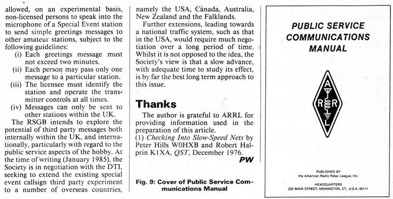 Practical Wireless magazine, March 19887