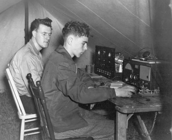 1950s Field Day for Scarborough Amateur Radio Club VE3WE