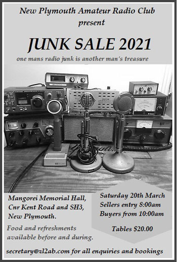 New Plymouth Junk Sale poster